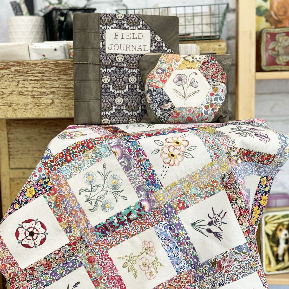 Amy Kallissa - Capel K - Liberty of London Tana Lawn Fabric