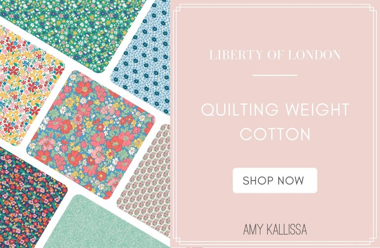 Liberty Quilting Weight Cotton